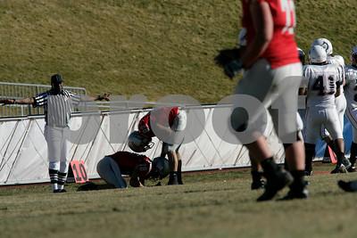 WSC Football vs CU Pueblo 11/6/10
