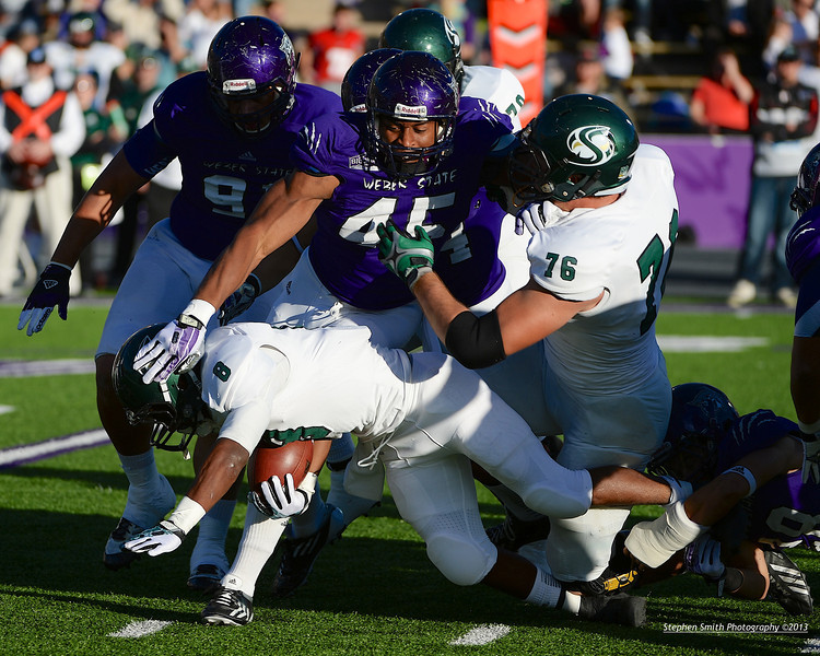 California State University Sacramento Hornets battle Weber State Wildcats in Big Sky Conference Football Action