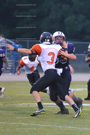 West Bladen 14 Wallace rosehill football