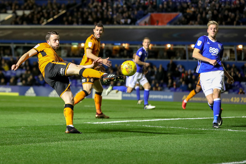 2017 EFL Championship Birmingham City v Wolves Dec 4th