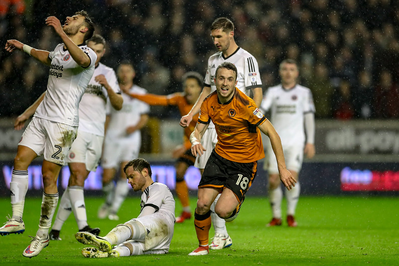 2018 EFL Championship Football Wolves v Sheff Utd Feb 3rd