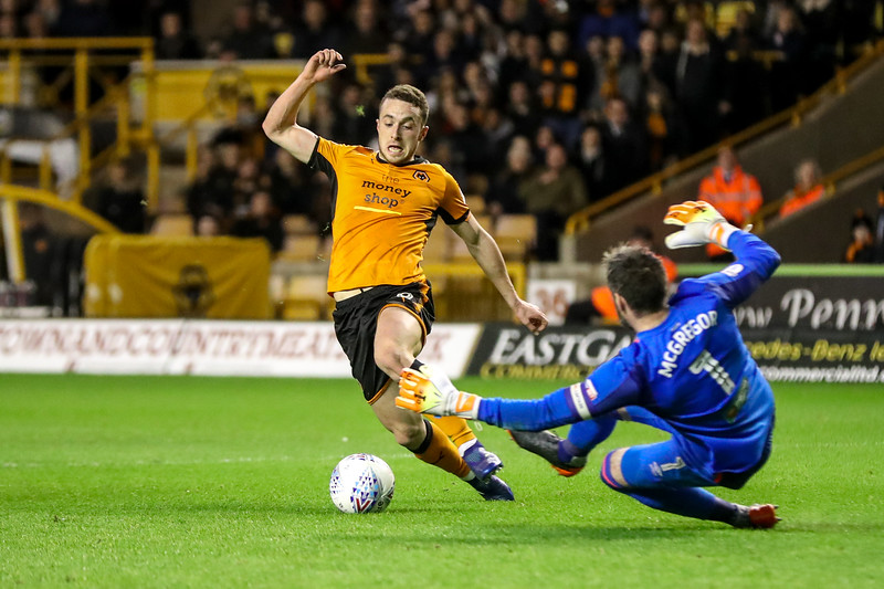 2018 EFL Championship Football Wolves v Hull City Apr 3rd