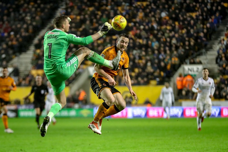 2018 EFL Championship Football Wolves v Sheff Utd Feb 3rd