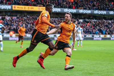 2018 EFL Championship Football Wolves v QPR Feb 10th