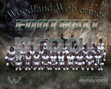 Woodland football Team 11-30-16