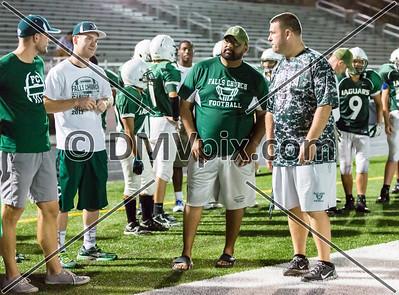Yorktown @ Falls Church JV Football (11 Sep 2014)