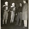 Two Boys in Football Uniforms (01144)