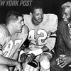Jackie Robinson Speaks to Football Players