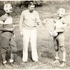 Two Football Players and Coach (01147)