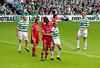 Celtic Park - Parkhead - Henrik's last game - against Seville