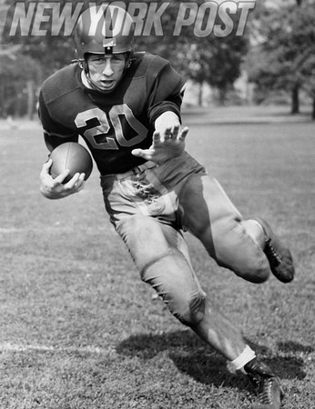 Army Football 1954 AAA Award Winner Lowell Sisson. 1954