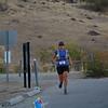 Dondi turns to the finish.