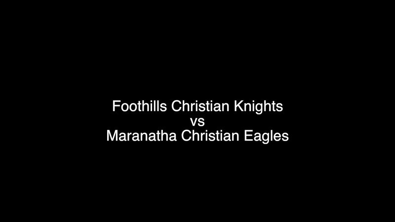 This video is about Knights vs Eagles 9-6-13
