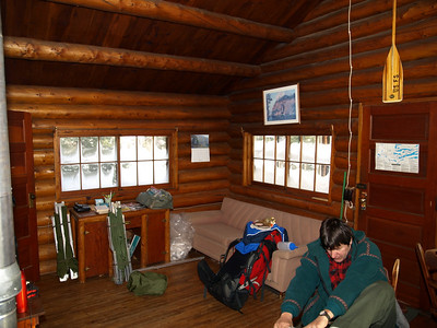 Living quarters are spartan, but easy on the eyes.   It takes you 70 years back in history when life was hard, but simple.   Upon entering here, you will feel like you are in a special place, away from civilization.   As you relax with a cup of hot cocoa and your own comfort food, time has come to a stop.   Join us and remember to bring a book to read on Sunday morning.