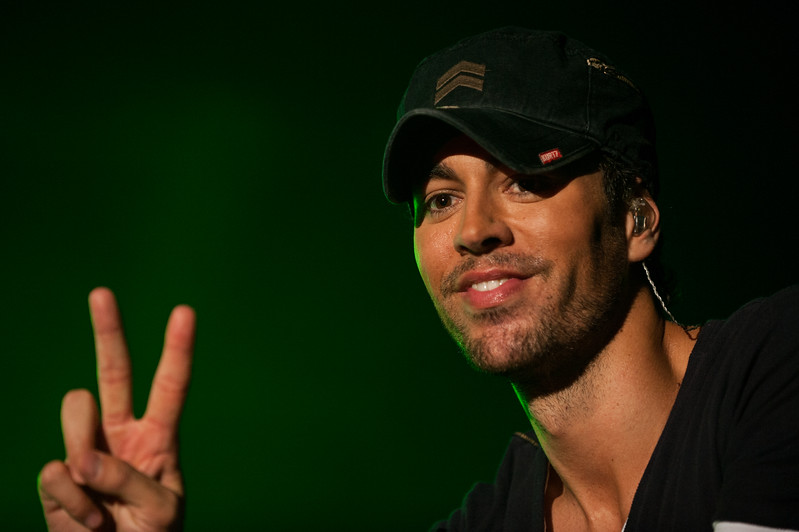 Enrique Iglesias performs at the COTA Club in Austin Convention Center as Saturday headliner for Austin Fan Fest during the United States Formula 1 Grand Prix Weekend, November 17th, 2012.