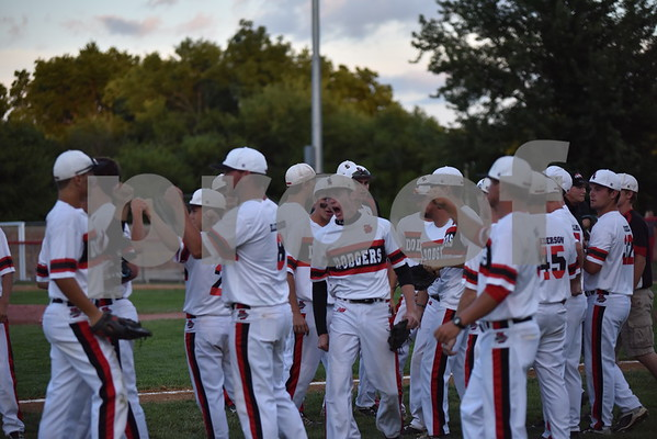 Messenger photo by Britt Kudla<br /> Sioux City West vs Fort Dodge during substate quarterfinal at Ed McNeil Field on July 15, 2016