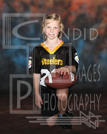 Flag Football Team and Indvidual Steelers