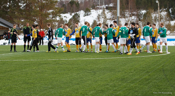 2013-04-12 senior, treningskamp, LIL-MSIL 1-3