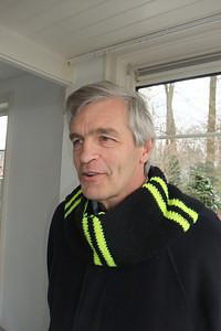 Henk Nutbey met das voorjaar 2013