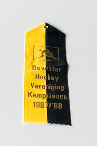 Kamnpioensvaantje 1987-1988   Voorwerpen aanwezig Clubhuis 7 maart 2013  Fotograaf: Lucrees van Groningen