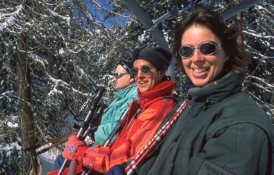 France - La Plagne, Wintersport 2001