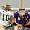 Record-Eagle/Douglas Tesner<br /> <br /> Football Frankfort vs Muskegon Catholic