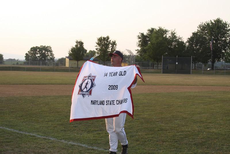 2009 14 U Babe Ruth Championship game 7-21-09_2925