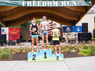 The Freedom Run in East Moline, IL