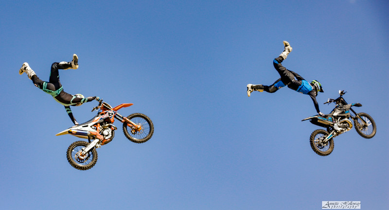Destin Cantrell and Jeff Griffin - Freestyle FMX Monster Experience at 2nd Street by Annette Holloway Photography