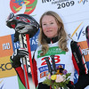 INAWASHIRO, JAPAN Ð MARCH 02 : (FRANCE OUT) Ashleigh Mcivor of Canada takes the 1st place during the FIS Freestyle World Championships Ð WomenÕs Ski Cross event on March 02, 2009 in Inawashiro, Japan (Photo by Agence Zoom/Getty Images).