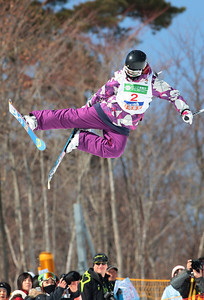 INAWASHIRO, JAPAN Ð MARCH 05 : (FRANCE OUT) Megan Gunning of Canada takes the 2nd place during the FIS Freestyle World Championships Ð WomenÕs Halfpipe event on March 05, 2009 in Inawashiro, Japan (Photo by Agence Zoom/Getty Images).