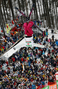 INAWASHIRO, JAPAN Ð MARCH 07: (FRANCE OUT) Aiko Uemura of Japan takes the 1st  place during the FIS Freestyle World Championships Ð WomenÕs Moguls event on March 07, 2009 in Inawashiro, Japan (Photo by Agence Zoom/Getty Images).