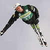 Zac Amidan of the United Staes jumps in aerials training at a FIS freestyle World Cup at Deer Valley Resort in Park City, Utah, Wednesday, Jan.  30, 2008.  <br /> Photo by Mike Ridewood/FIS