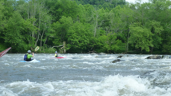 French Broad with Cincypaddlers 2014