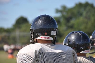 Freshman Football Practice 8/22