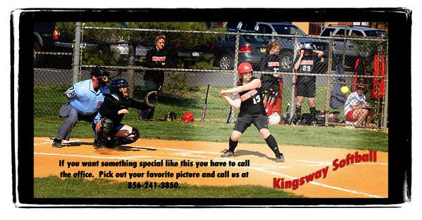 Freshman Softball - Kingsway vs. Highland - 4/9/09