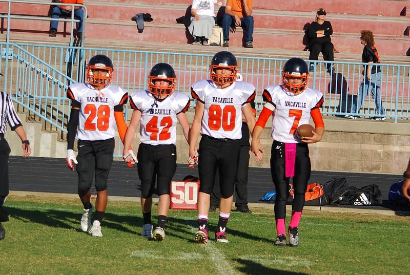 Vacaville at Deer Valley - Freshman - October 3, 2013