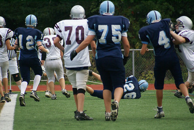 Millis vs Medfield Freshman Football , Mohawks tie