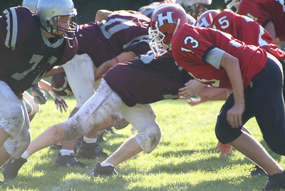#73 Josh Lambert exerts his dominance onto the field!