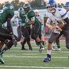 Muskogee Roughers hosting the Sapulpa Chieftains.  September 26, 2014 - Muskogee, OK.