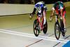 Daniel Holloway wins a sprint against Matt Tamel in a photo finish
