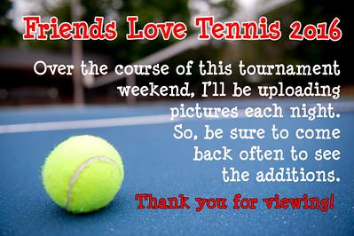 Friends Love Tennis 2016