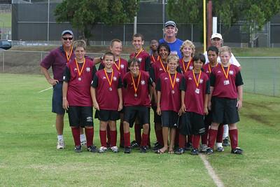 Friendship Tourney Champions U14 boys 10/20 & 10/21/07