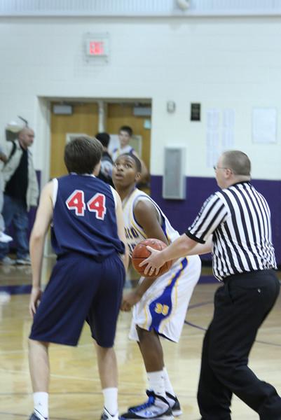 FHS JV vs Centennial Jan 15 2010 lost