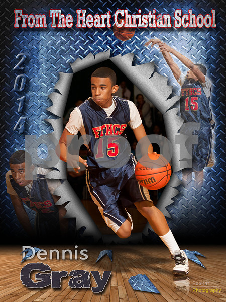 Dennis Gray poster_11x14_torn