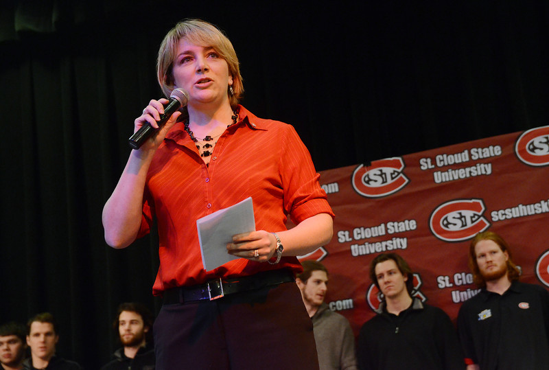 Athletic Director Heather Weems praises the fans, team and coaches.