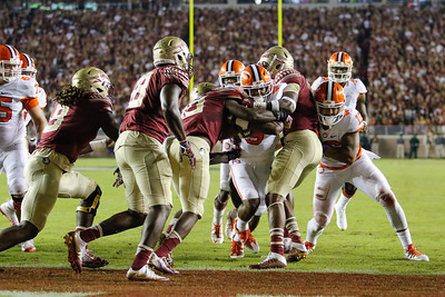 #3 Clemson vs. #12 Florida State Saturday, October 29, 2016 at Doak Campbell Stadium. Photo by Dawson Powers
