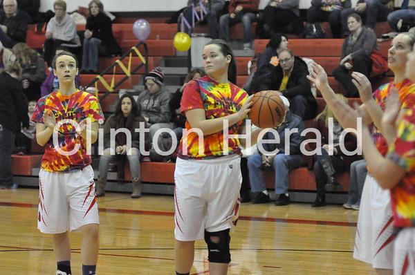 Fulton at Erie girls basketball (1-18-16)