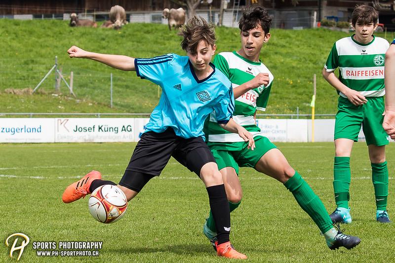 Jun C 1. Stärkeklasse - Frühjahrsrunde - Gr. 3: SC Steinhausen - SV Meggen/Adligenswil - 2:3