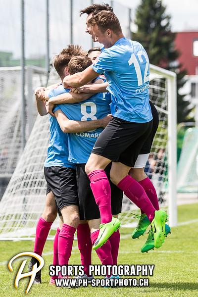 Coca-Cola Junior League A, Gruppe 1: Zug 94 - FC Rapid Lugano - 5:2